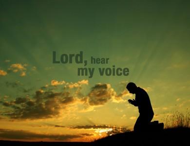 Gebet gegen Sorgen