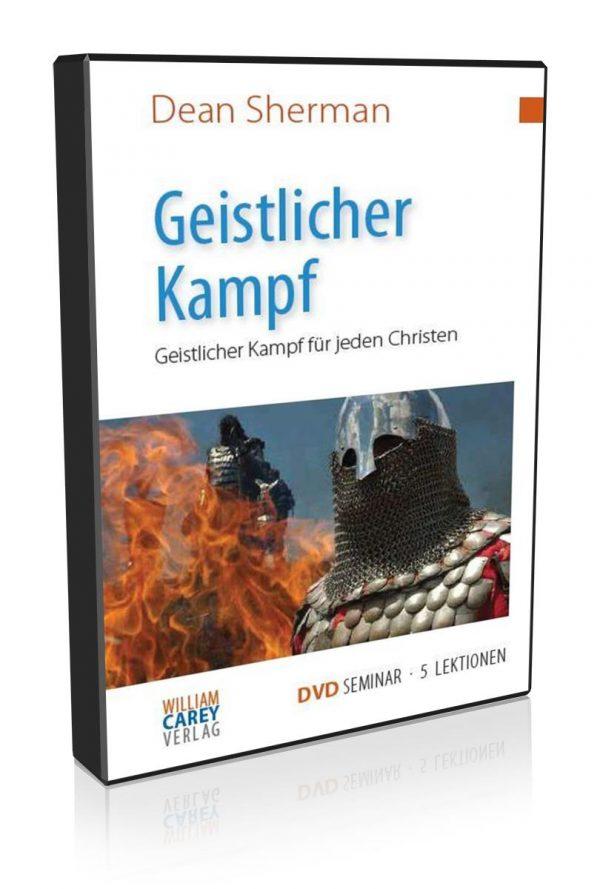 5-tlg. DVD-Kurs Geistlicher Kampf