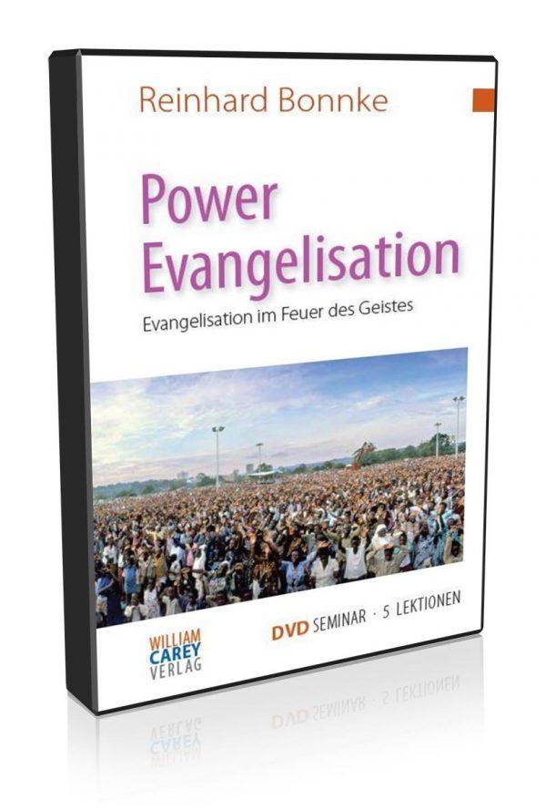 DVD-Kurs Power Evangelisation Reinhard Bonnke