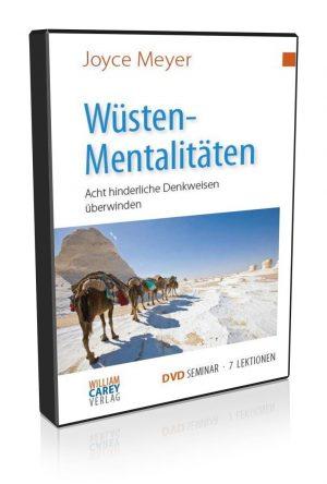 5- tlg. DVD-Seminar - Wüstenmentalitäten - Joyce Meyer