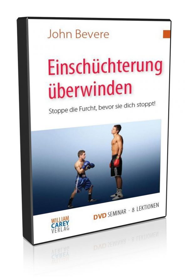 8-tlg. DVD-Seminar – Einschüchterung überwinden
