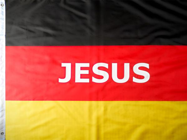 Jesus Flagge Gebetsflagge Deutschlandfahne